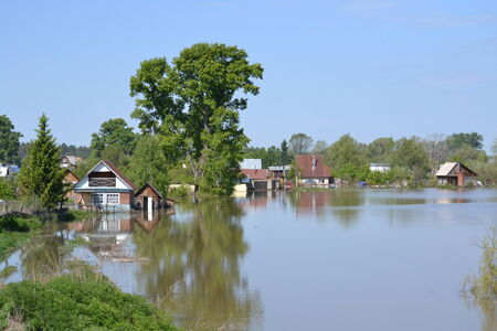 Spring flood has brought population Altaya much troubles photo