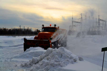 snowdrifts: Snow snowdrifts in winter helps to take away person modern technology