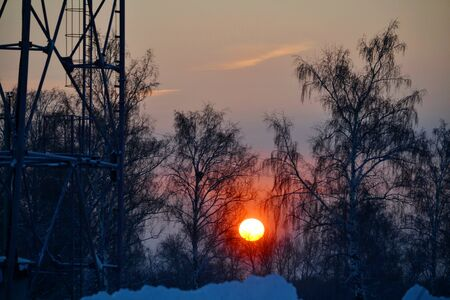 Nature Altaya pleases eye of the artist in any season of the year Stock Photo