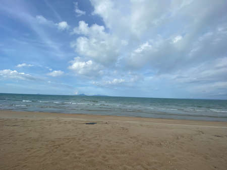 MYGIG123RF - Scenery view of the one of the hidden beautiful sandy beach in Besut. Benting Lintang, Tembila, Besut. Stock fotó