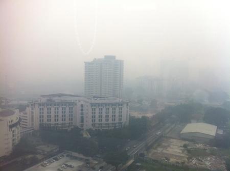 Kuala Lumpur under haze attack