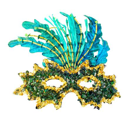 antifaz de carnaval: m?scara de carnaval aisladas sobre fondo blanco