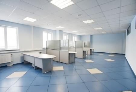 tabique: llanura interior de oficinas