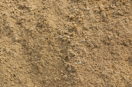 loosened  sand close-up  natural background