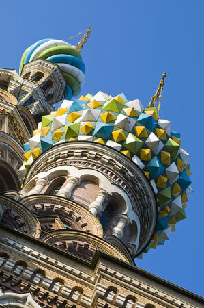 St  Petersburg: Dome of Church of Savior on Spilled Blood, St  Petersburg, Russia