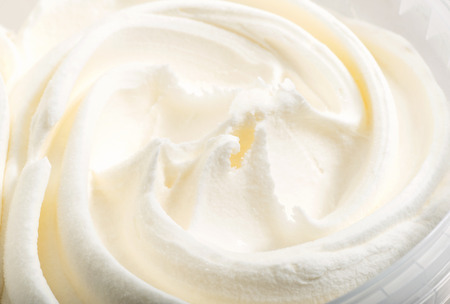 twiddle: white ice cream texture macro background