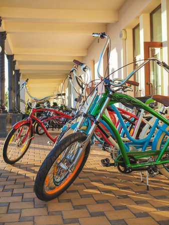 Modern bicycles are a convenient way of productive leisure and comfortable transport.