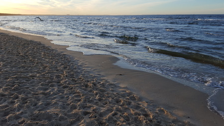 endlessly: The Baltic Sea at sunset 03