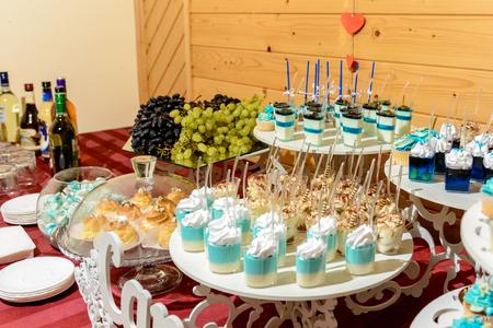 Ukrainian wedding and sweet, nice buffet table 2019