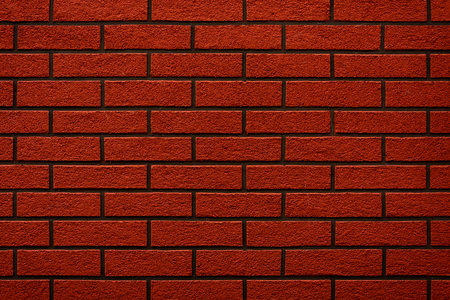 Brick wall of the house, beautiful background and texture. 2019 Stock Photo