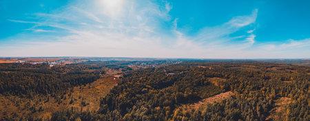 Local deforestation, aerial deforestation areas, Ukrainian forests and their destruction. new