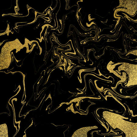 Digital Gold and Black Texture, Abstract Surface Design, Striped Wallpaper, Black and Gold Marble, Golden Strata, Digital Paper Set, Classy Invitation Background, Art Deco Backdrop, Glitter Texture