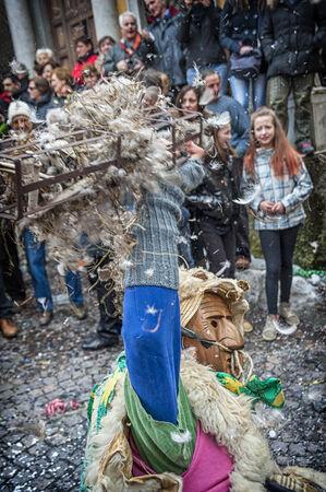traditional italian carnival Editorial