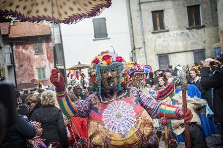Traditional italian carnival