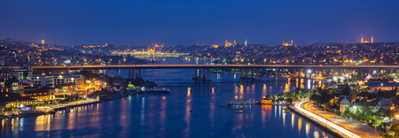 Istanbul by night photo