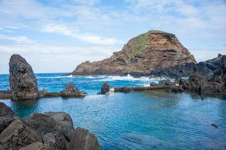 Madeira coastline photo
