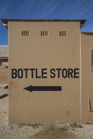 Bottle store sign photo