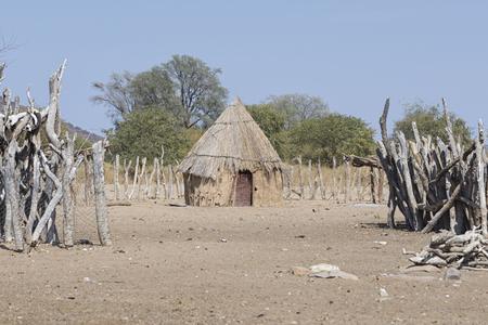 indigence: Namibian hut