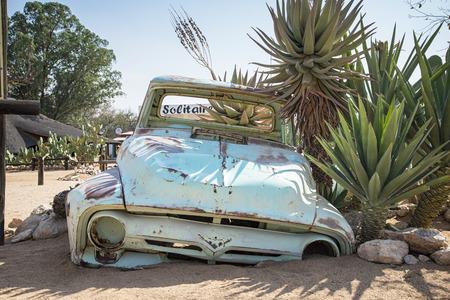 namibia: Solitaire Namibia Stock Photo