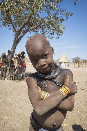 northern african: Himba child