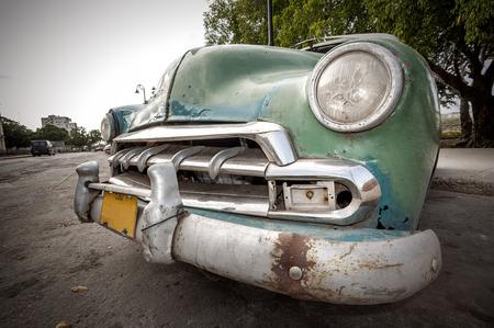 Cuban car Standard-Bild
