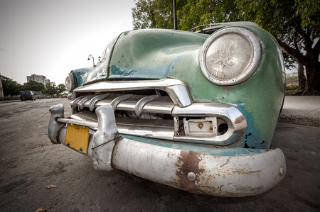 Cuban car Stock Photo