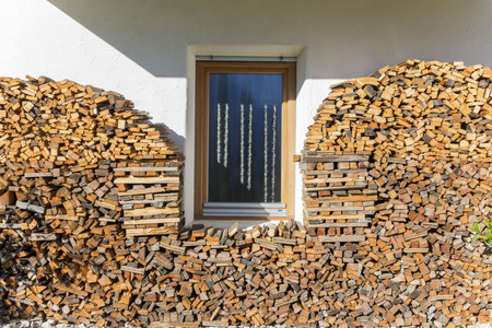 woodshed: Woodshed Stock Photo