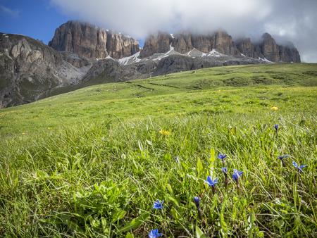 sud tirol: Pordoi Pass