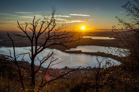 Sunset in Brianza