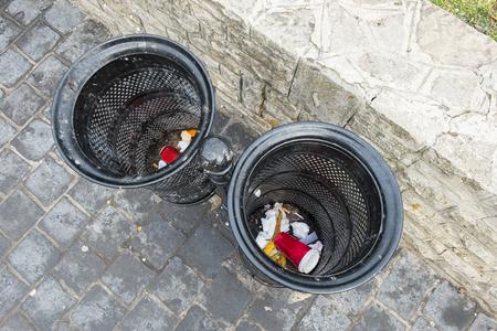 cesto basura: Cesta de la basura