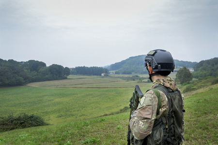 patrolling: Patrolling the valley