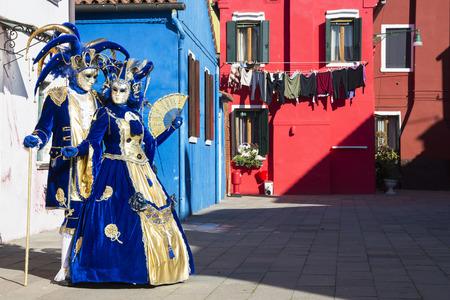Venice carnival Standard-Bild