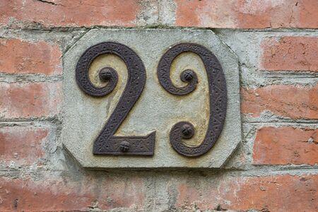 civic: Civic Number Stock Photo