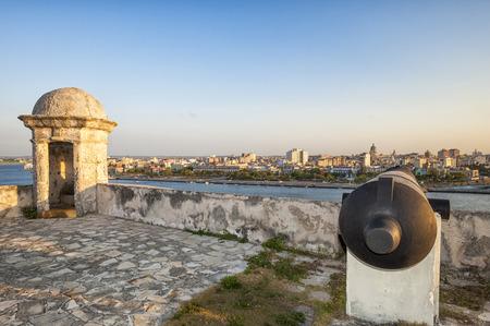 habana: Habana fortress Stock Photo