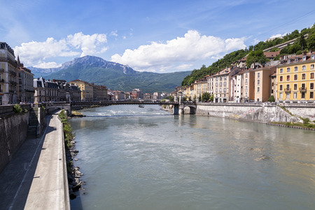 Grenoble Stock Photo