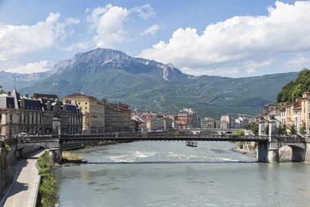 Grenoble 写真素材