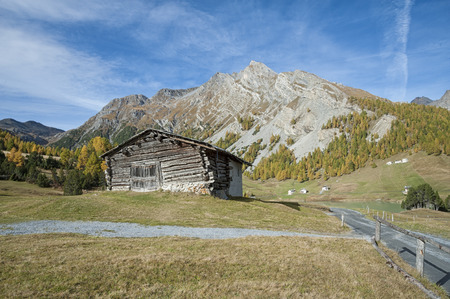 chalet: Chalet in the alps