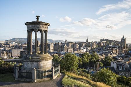 Edinburgh Calton Hill 写真素材