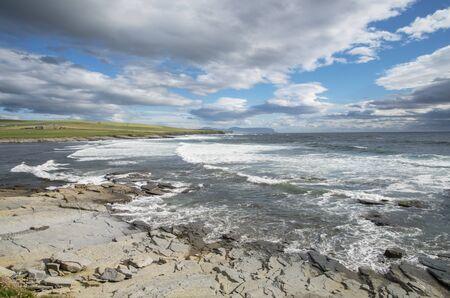 coastline: Orkney islands coastline