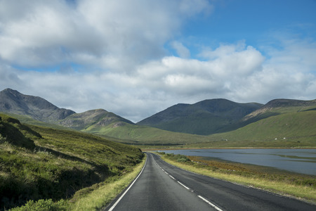 skye: Skye island panorama Stock Photo