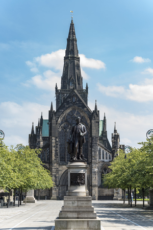 Glasgow Cathedral 写真素材