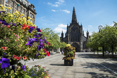 Glasgow Cathedral 스톡 콘텐츠