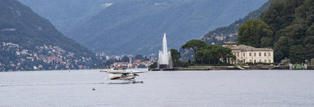 house float on water: Lake Como seaplane