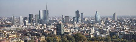 skyscrapers: Milan skyline