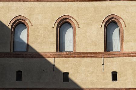 church interior: Castle windows