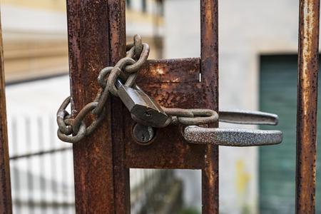 locked: Locked gate