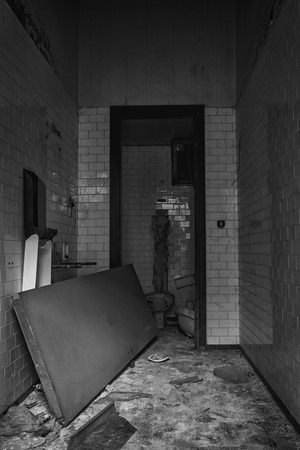 bathroom: Abandoned bathroom