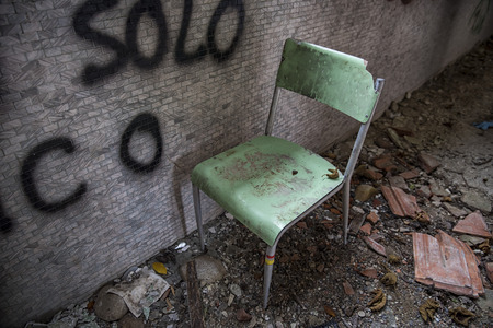 abandoned: Abandoned chair