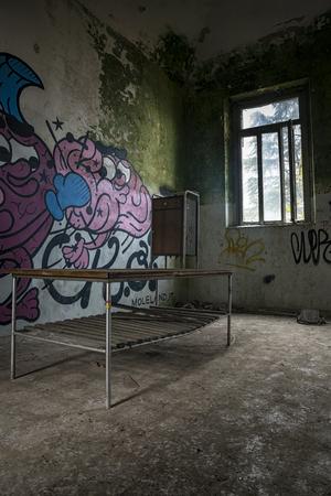 abandoned: Abandoned Desk