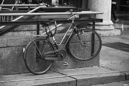 locked: Locked bike